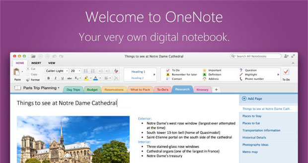 Microsoft OneNote for Mac, Supports OCR and more - Wisely Guide