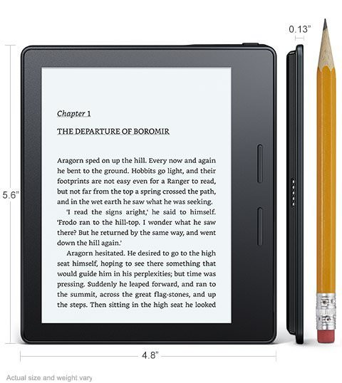 Amazon Announces New Kindle Oasis