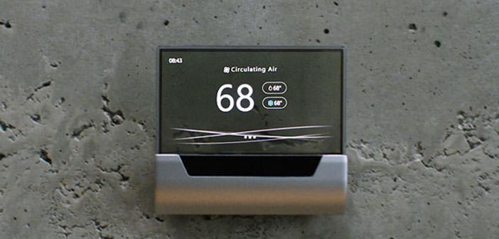 Microsoft And Johnson Controls Present Glas  A Thermostat