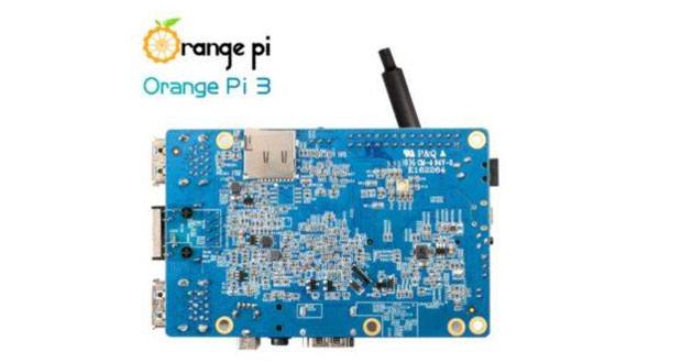 Orange Pi 3 challenge Raspberry Pi with 2 GB of RAM, mPCIe and WiFi