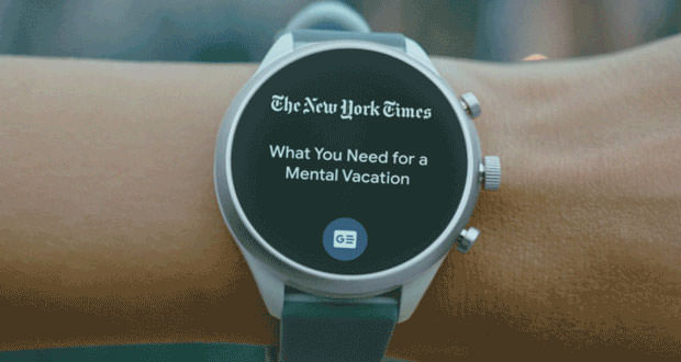 Translations Into Italian: Wear OS: The New Tile Interface Is Based On Swipes