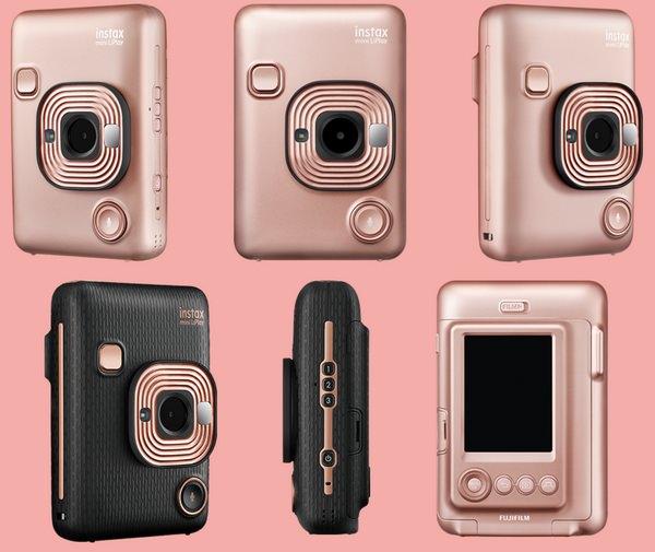 Fujifilm Instax Mini Liplay The New Instant Camera With